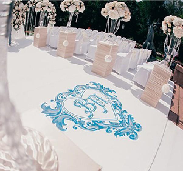 Оформление прохода и свадебные дорожки