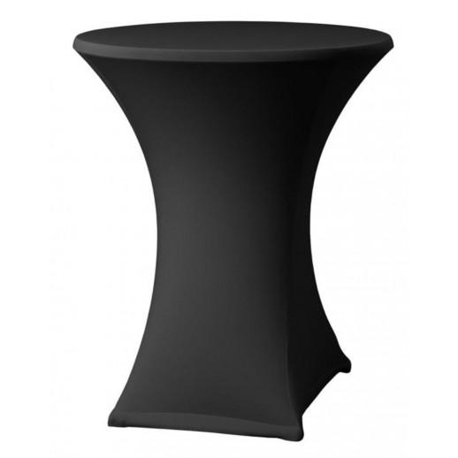 Чехол на коктейльный стол, черный стрейч