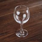 Бокал под вино № 1, широкое основание, h 13.5 см