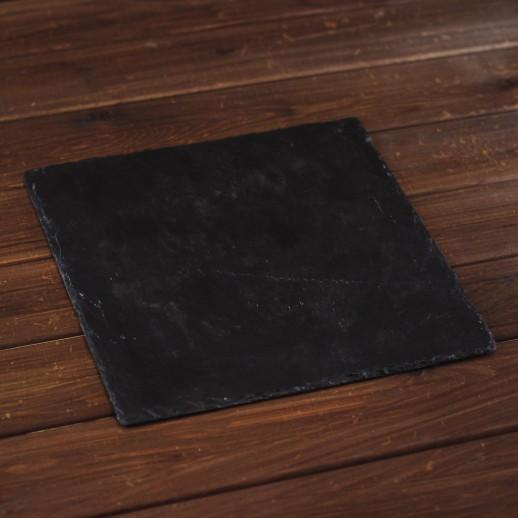 Плато черное, 30х30 см