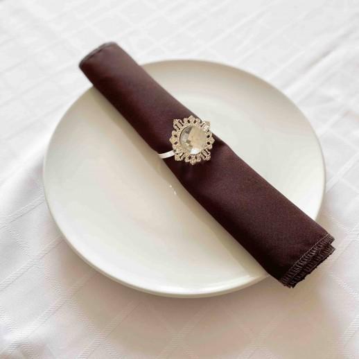 Аренда салфетки (темный шоколад), 30 х 30 см