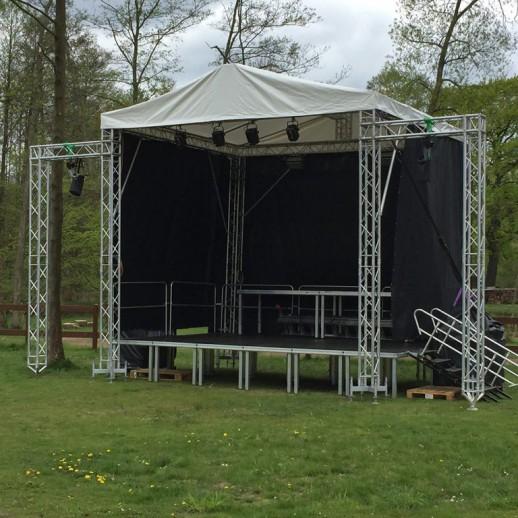 Аренда сцены, 6 х 4 м