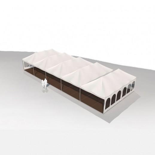 Аренда шатра, 8 х 20 м (160 м2)