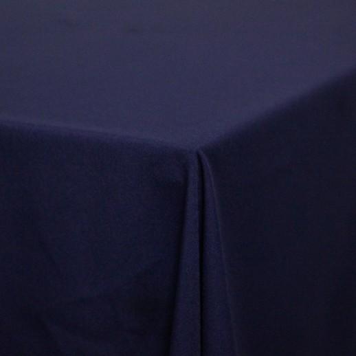 Скатерть синяя, 220 х 150 см, габардин