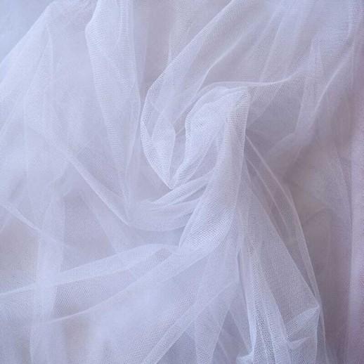 Аренда ткани фатин (белый), 1м