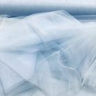 Аренда ткани фатин  (голубой), 1м
