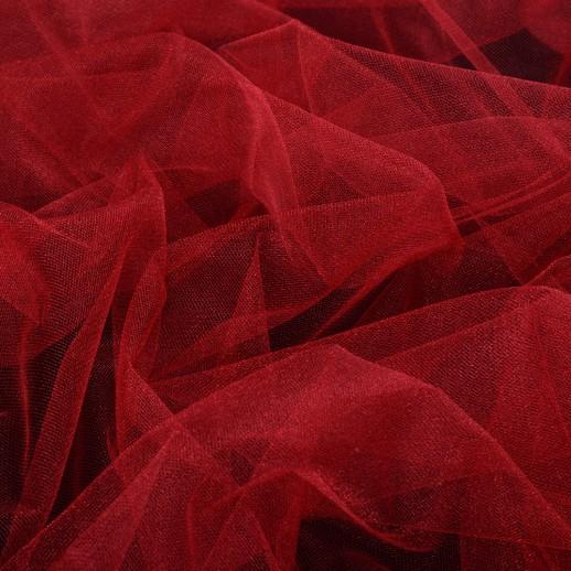 Аренда ткани фатин (красный), 1м