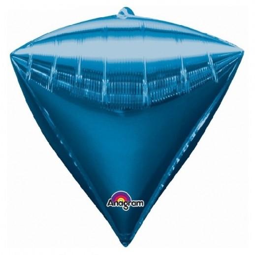 3D Алмаз фольгированный, синий