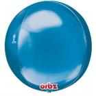 3D Сфера фольгированная, синяя