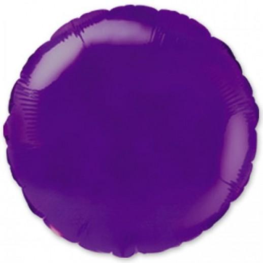 Круг фольгированный, фиолет