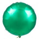 Круг фольгированный, зеленый