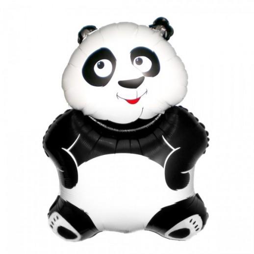 Панда, фольгированный шар
