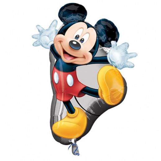 Микки Маус № 1, фольгированный шар