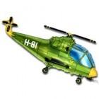 Вертолет, фольгированный шар