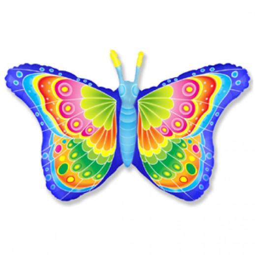 Бабочка, фольгированный шар