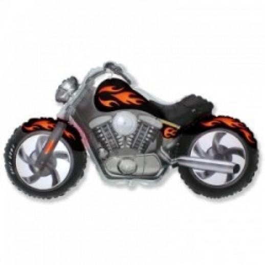 Мотоцикл, фольгированный шар