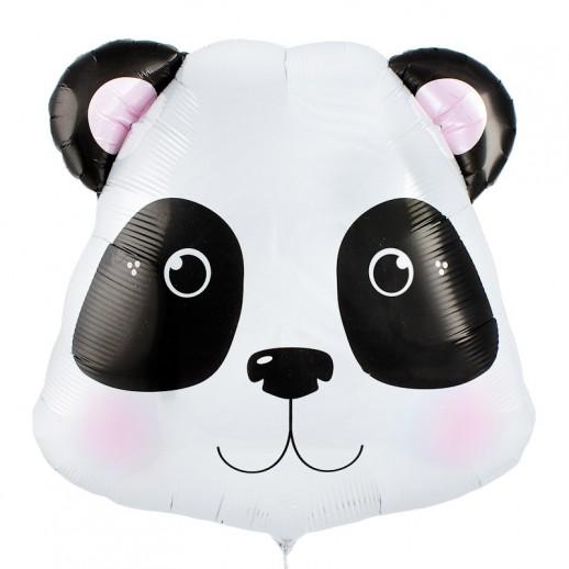 Голова панды, фольгированный шар