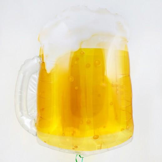Пивная кружка, фольгированный шар