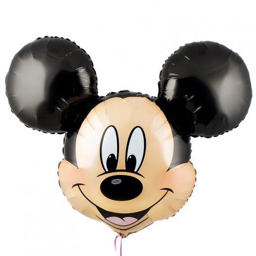 Голова Микки Маус, фольгированный шар