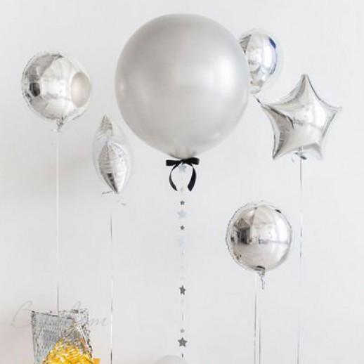 Фотозона из шаров №1