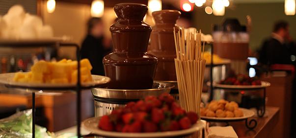 Шоколадный фонтан bannm