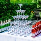 Горка шампанского на 55 персон