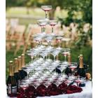 Горка шампанского на 35 персон