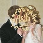 Инициалы на свадьбу № 35