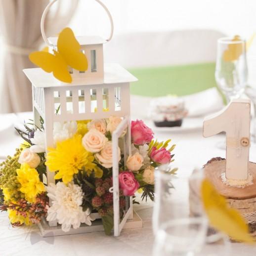 Композиция на столы гостей №13