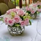 Композиция на столы гостей №17
