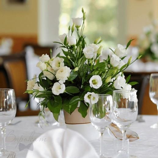 Композиция на столы гостей №5