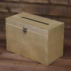 Аренда коробки для подарков, золото № 3