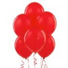 Шары с гелием, 30 см, красные