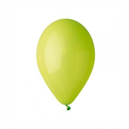 Шар латекс 10, светло-зеленый (уп. 100 шт.)