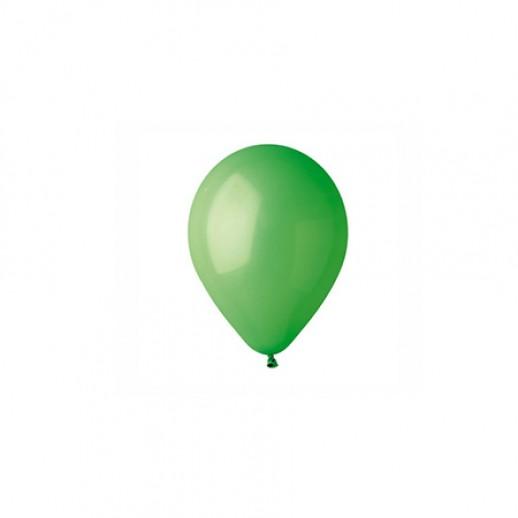 Шар латекс 5, зеленый (уп. 100 шт.)
