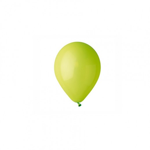 Шар латекс 5, светло-зеленый (уп. 100 шт.)