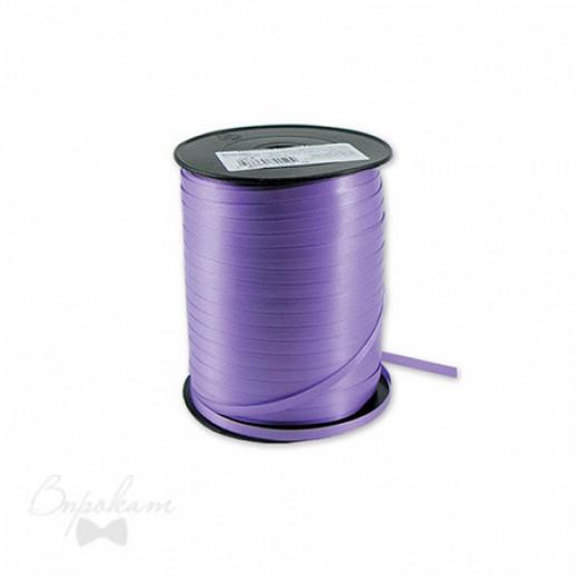 Лента простая 0,5см х 500 м, цвет феолетовый