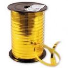 Лента металик 0,5см х 250 м, цвет золото