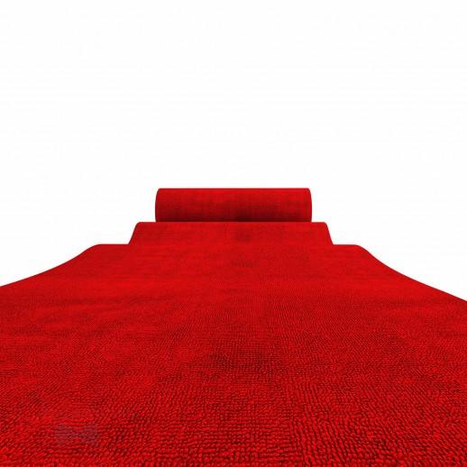 Красная ковровая дорожка, 1 х 10 м