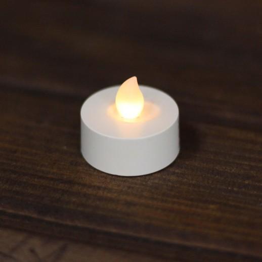 Аренда LED свечи Таблетки d=3.5 см, теплые