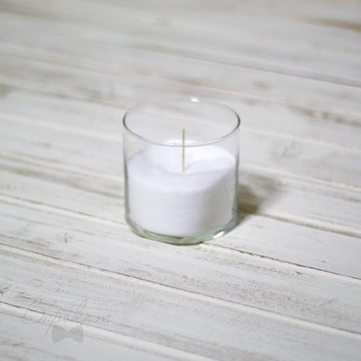 Аренда колбы с насыпными свечами, 10 см