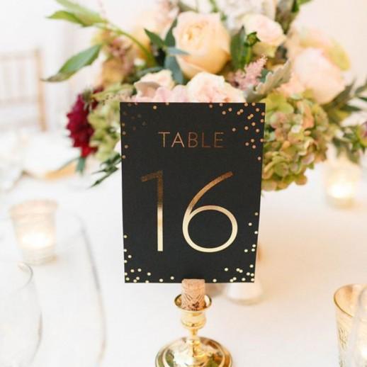 Нумерация на стол №22