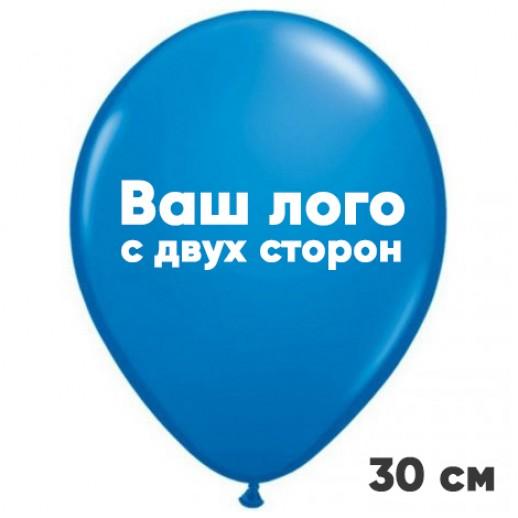 Печать на шарах 10000 шт, с двух сторон