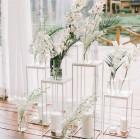Декоративная фотозона с цветочными композициями № 2287