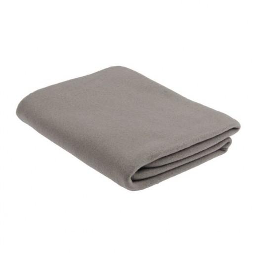 Плед, серый, 160 х 120 см