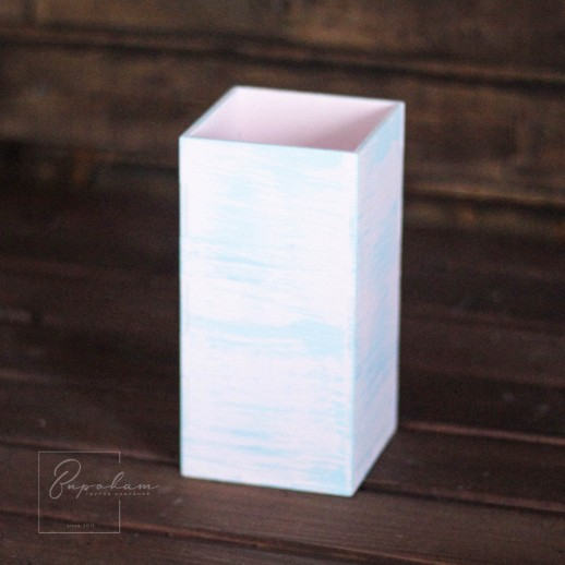 Деревянный ящик, кашпо
