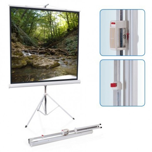 Экран для проектора, 180 х 180 см
