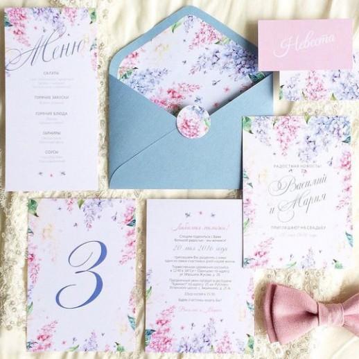 Пригласительный на свадьбу № 15