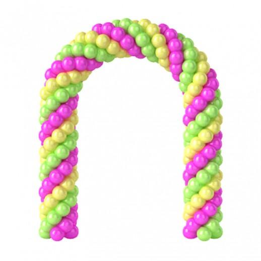 Арка из плетеных шаров № 6, цена за 1м