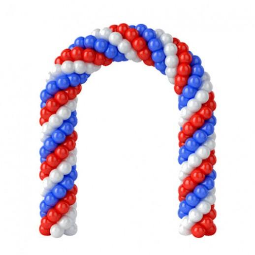 Арка из плетеных шаров № 7, цена за 1м